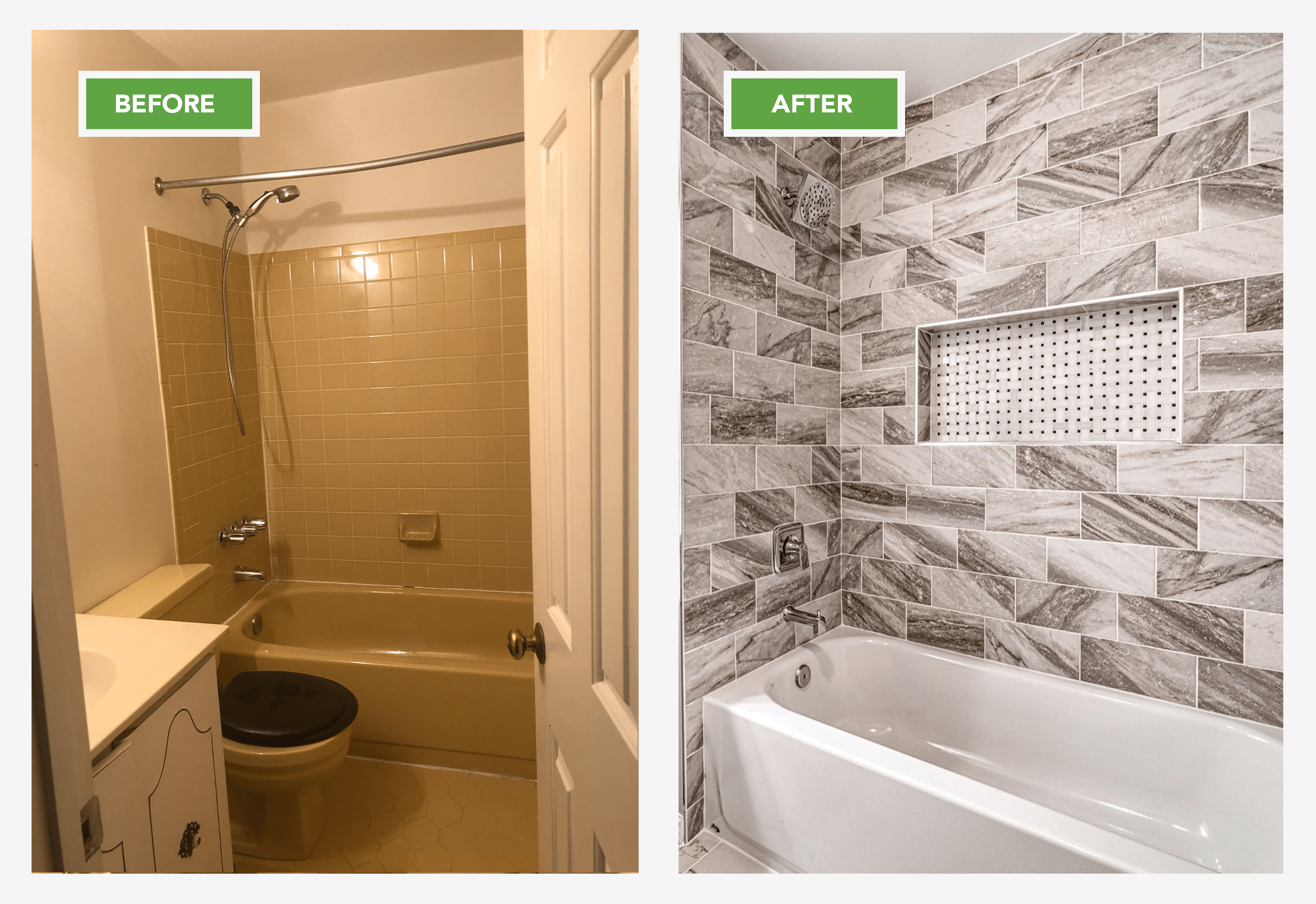 Shower Renovation Alexandria VA