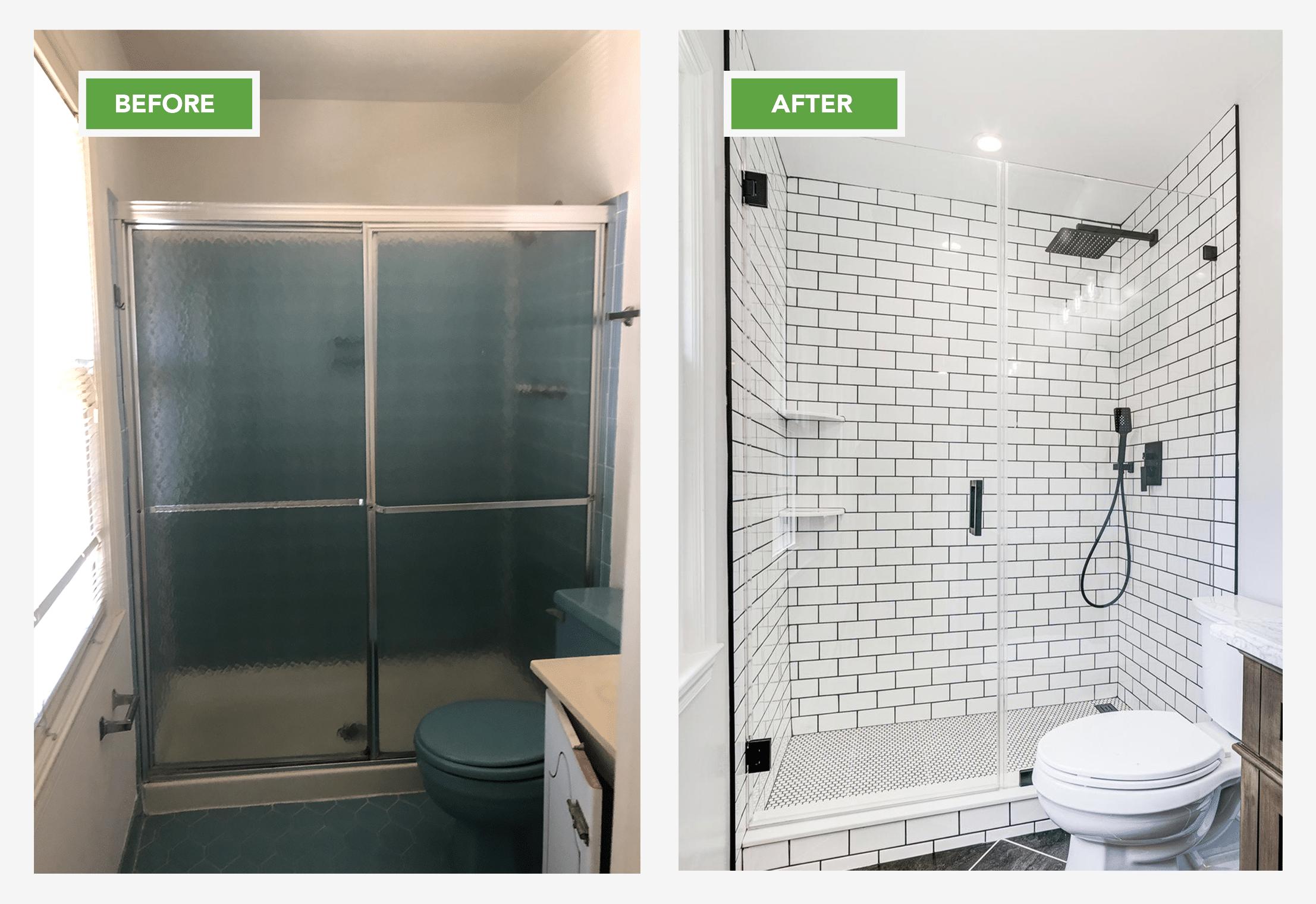 Walk-in Shower Renovation Alexandria VA